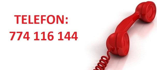 Telefonní kontakt oTTo interier Plzeň 774 116 144