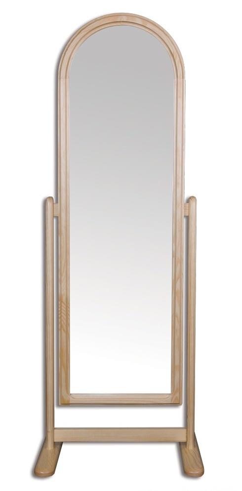 LT102 dřevěné zrcadlo masiv borovice Drewmax